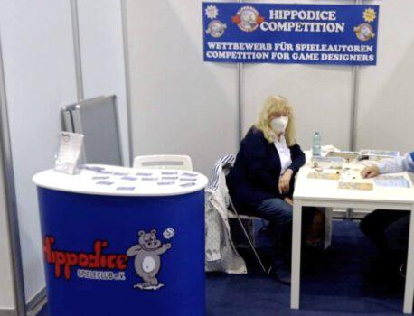 SPIEL2021: Hippodice-Stand